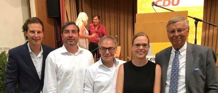 Die MIT mit Wolfgang Bosbach MdB und Olav Gutting MdB