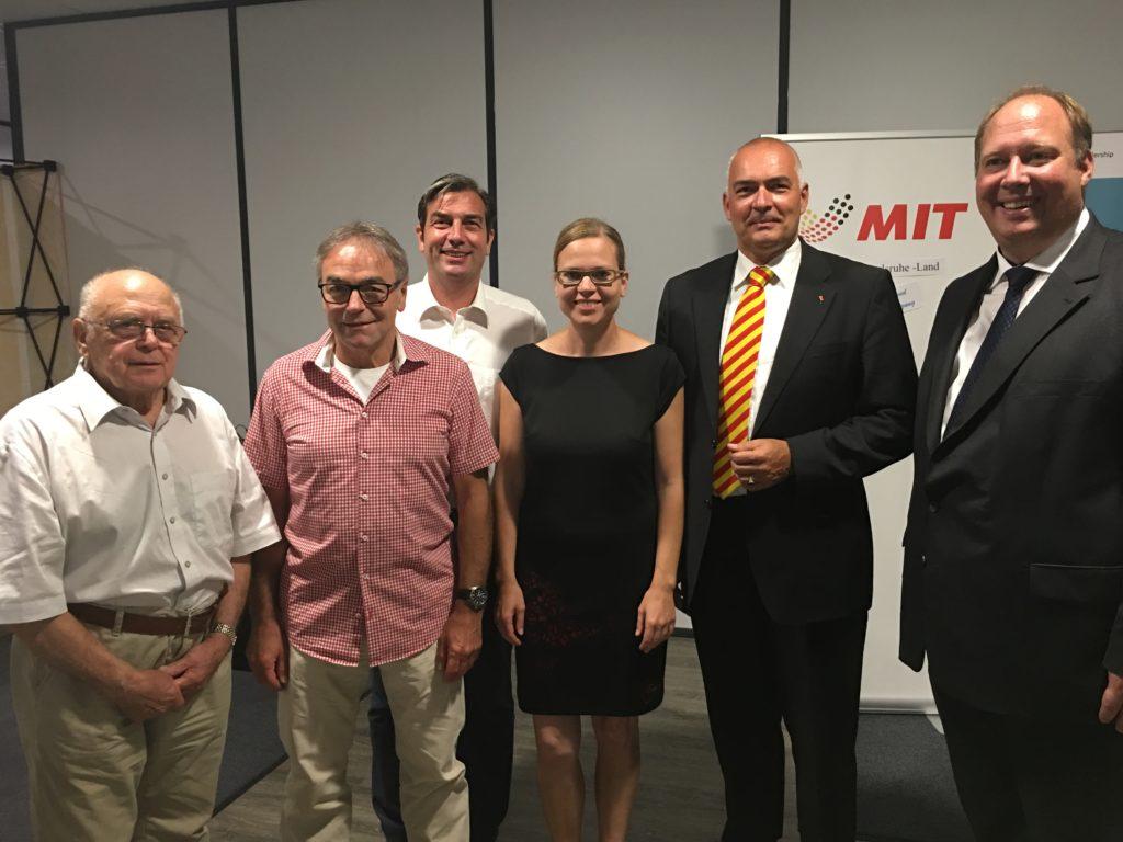 Kanzleramtsminister bei der MIT Karlsruhe-Land