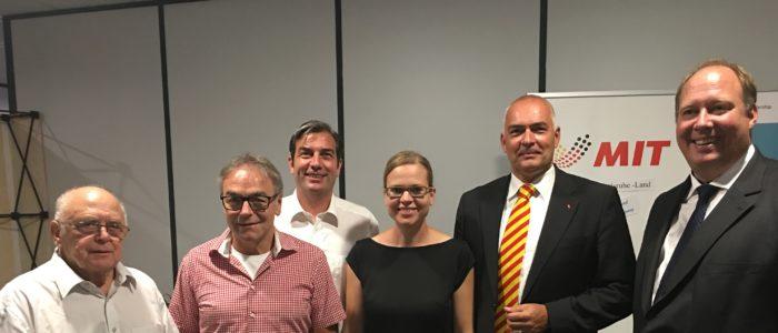 Die MIT mit Prof. Dr. Helge Braun MdB und Axel Fischer MdB