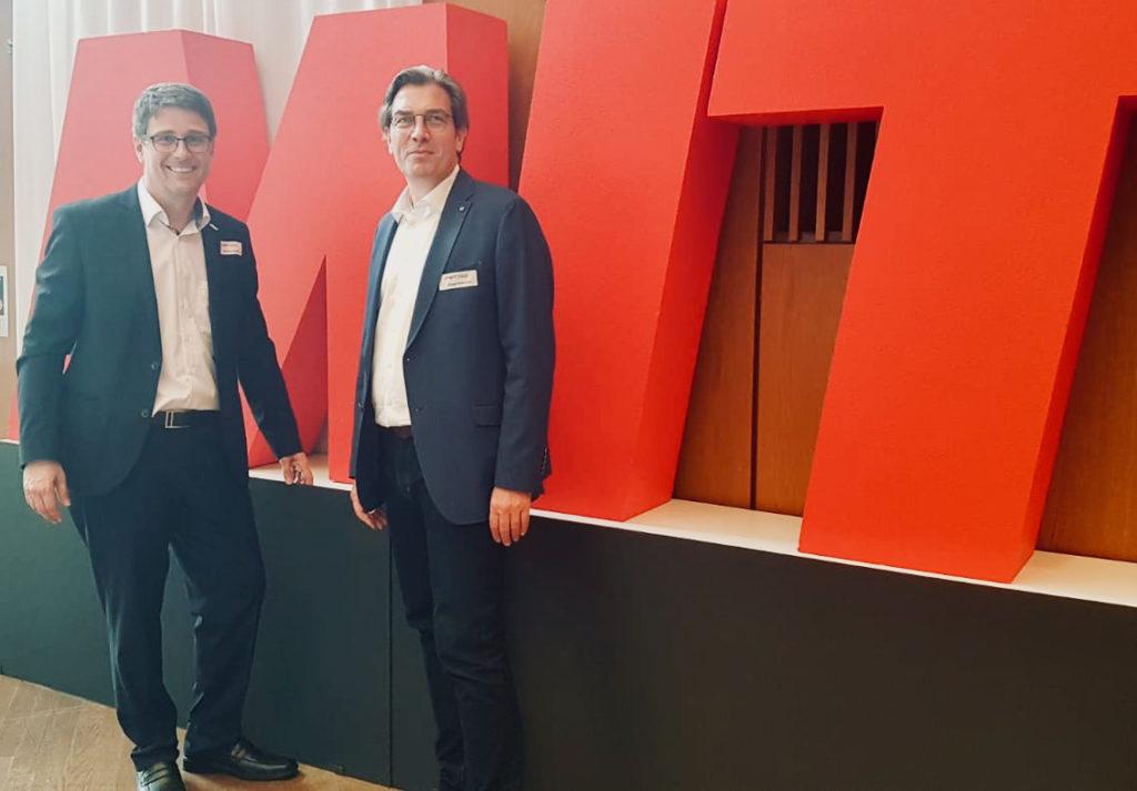 Bastian Atzger und Juergen Scheurer